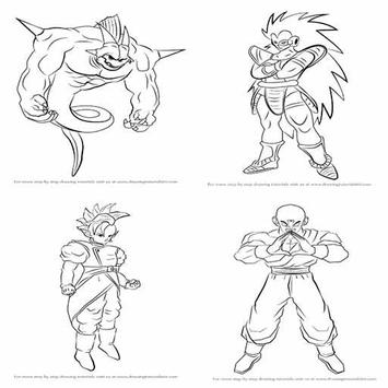 how to draw dragons balls screenshot 4