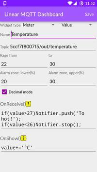 Linear MQTT Dashboard スクリーンショット 7