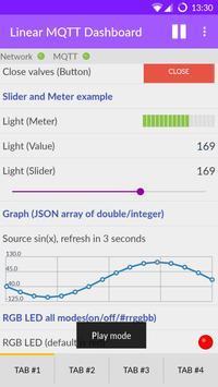 Linear MQTT Dashboard ポスター