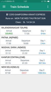 Indian Rail Live Info apk screenshot