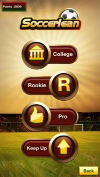 Soccerlean poster