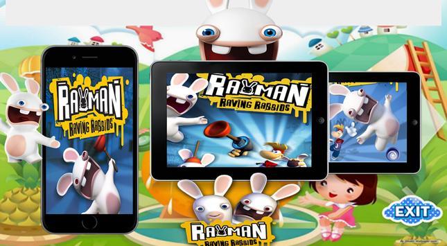 Raving rabbids game poster