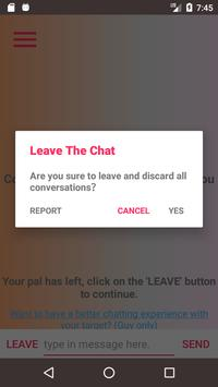 LeTalk - Find someone to talk anonymously apk screenshot