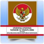 UU Kewarganegaraan (Nomor 12 Tahun 2006) icon