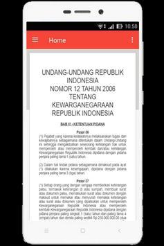 UU Kewarganegaraan (Nomor 12 Tahun 2006) screenshot 6