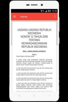 UU Kewarganegaraan (Nomor 12 Tahun 2006) screenshot 9