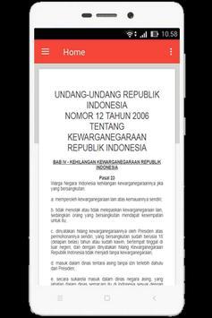 UU Kewarganegaraan (Nomor 12 Tahun 2006) screenshot 11