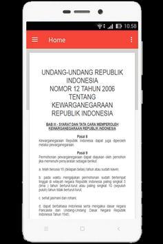 UU Kewarganegaraan (Nomor 12 Tahun 2006) screenshot 3