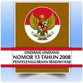 UU Haji (Nomor 13 Tahun 2008) icon