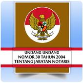 UU Jabatan Notaris (Nomor 30 Tahun 2004) icon