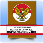 UU Peradilan Militer (Nomor 31 Tahun 1997) icon