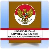 UU Perjanjian Internasional (Nomor 24 Tahun 2000) icon