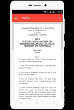 UU Perseroan Terbatas (Nomor 40 Tahun 2007) screenshot 3