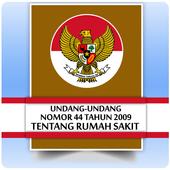 UU Rumah Sakit (Nomor 44 Tahun 2009) icon
