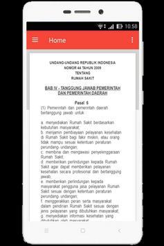 UU Rumah Sakit (Nomor 44 Tahun 2009) apk screenshot
