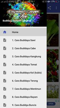 Cara Budidaya Sayuran poster