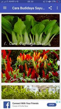 Cara Budidaya Sayuran screenshot 1