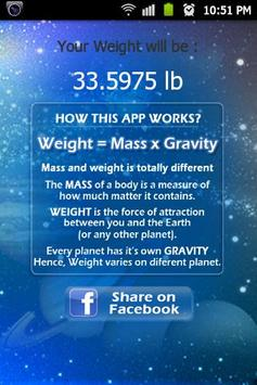 Know Your Weight.. screenshot 2