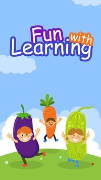 Kids Preschool Learning & Quiz poster