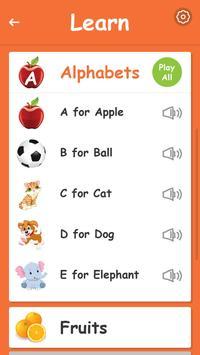 Kids Preschool Learning & Quiz screenshot 3