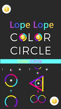 Lope Lope Color Circle poster