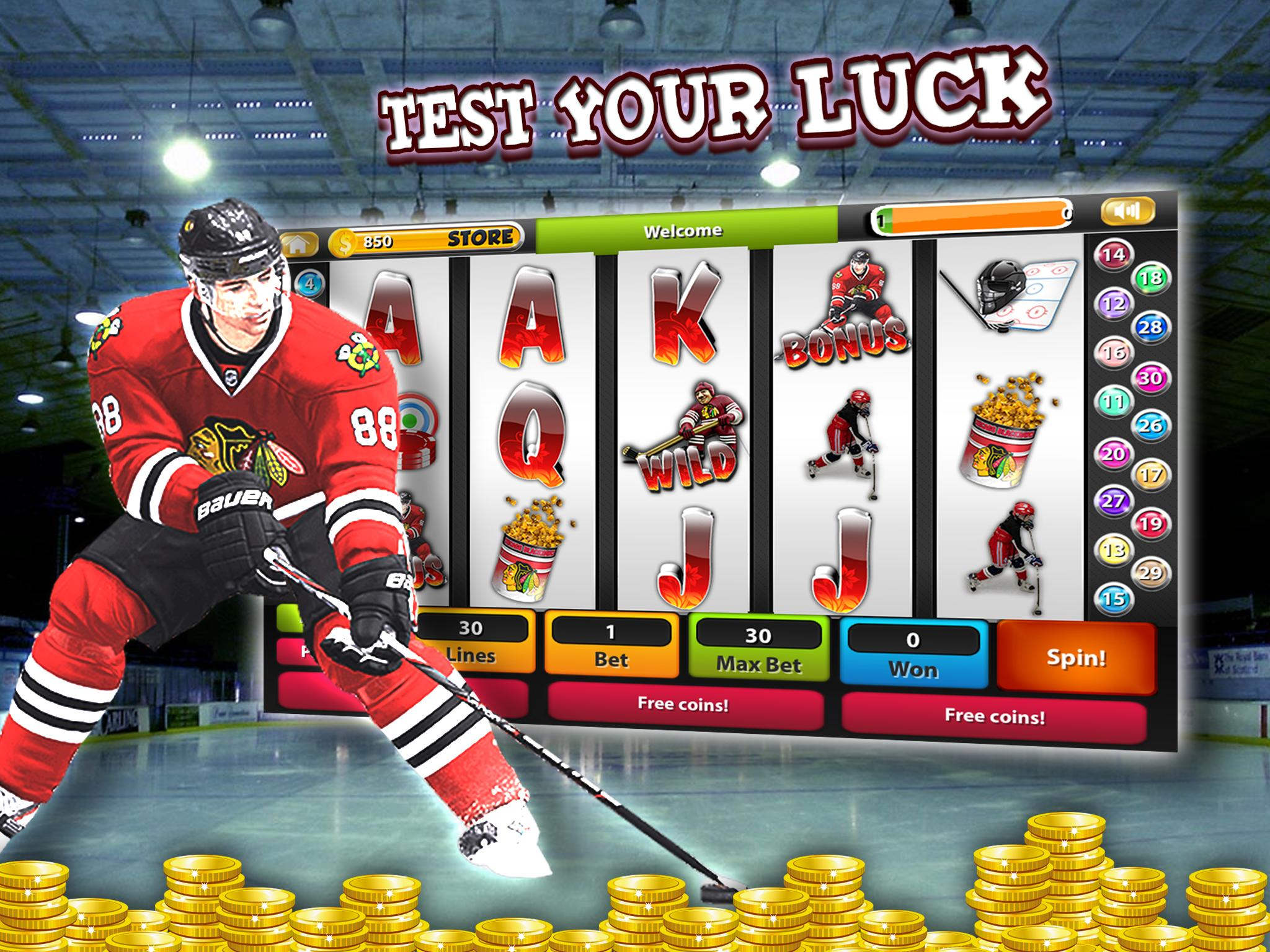 Ice Hockey Slot Machine Casino for Android - APK Download