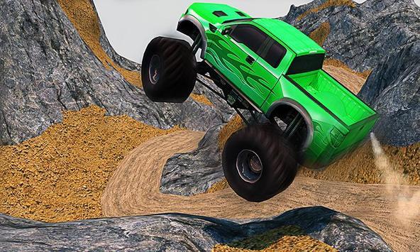 Offroad Pickup Monster Truck: 4x4 Extreme Racing apk screenshot