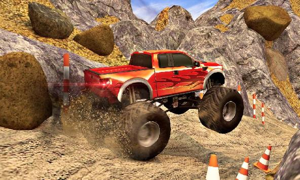 Offroad Pickup Monster Truck: 4x4 Extreme Racing poster