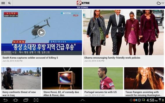 KTRE 9 Local News apk screenshot