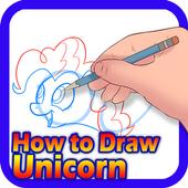 How to Draw Unicorn icon