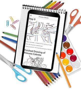 How to Draw Unicorn apk screenshot
