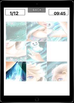 Sliding Anna Elsa Puzzle poster