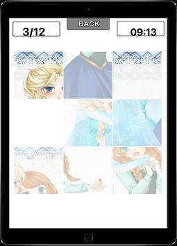 Sliding Anna Elsa Puzzle apk screenshot