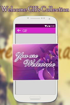 Welcome GIFs Collection apk screenshot