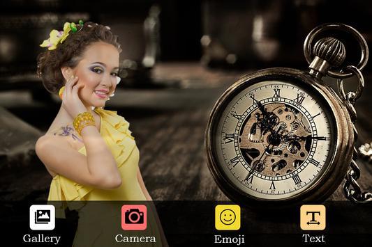 Clock Photo Frame apk screenshot