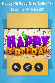 Happy Birthday GIFs Collection apk screenshot