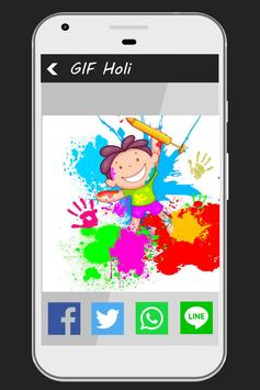 Happy Holi GIFs Collections screenshot 2