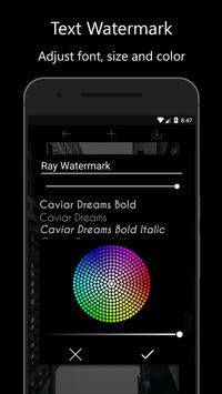Ray Watermark - Watermark with QR, Logo, Text screenshot 1