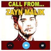 Call From Zayn Malik Prank icon