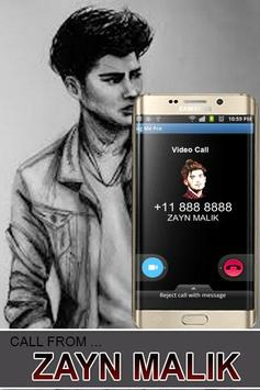 Call From Zayn Malik Prank poster