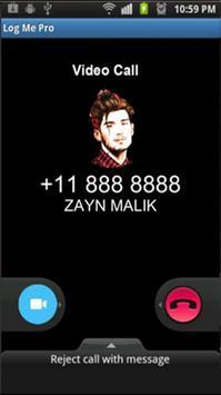 Call From Zayn Malik Prank screenshot 2