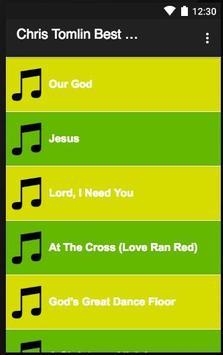 Chris Tomlin Best Song Lyrics apk screenshot