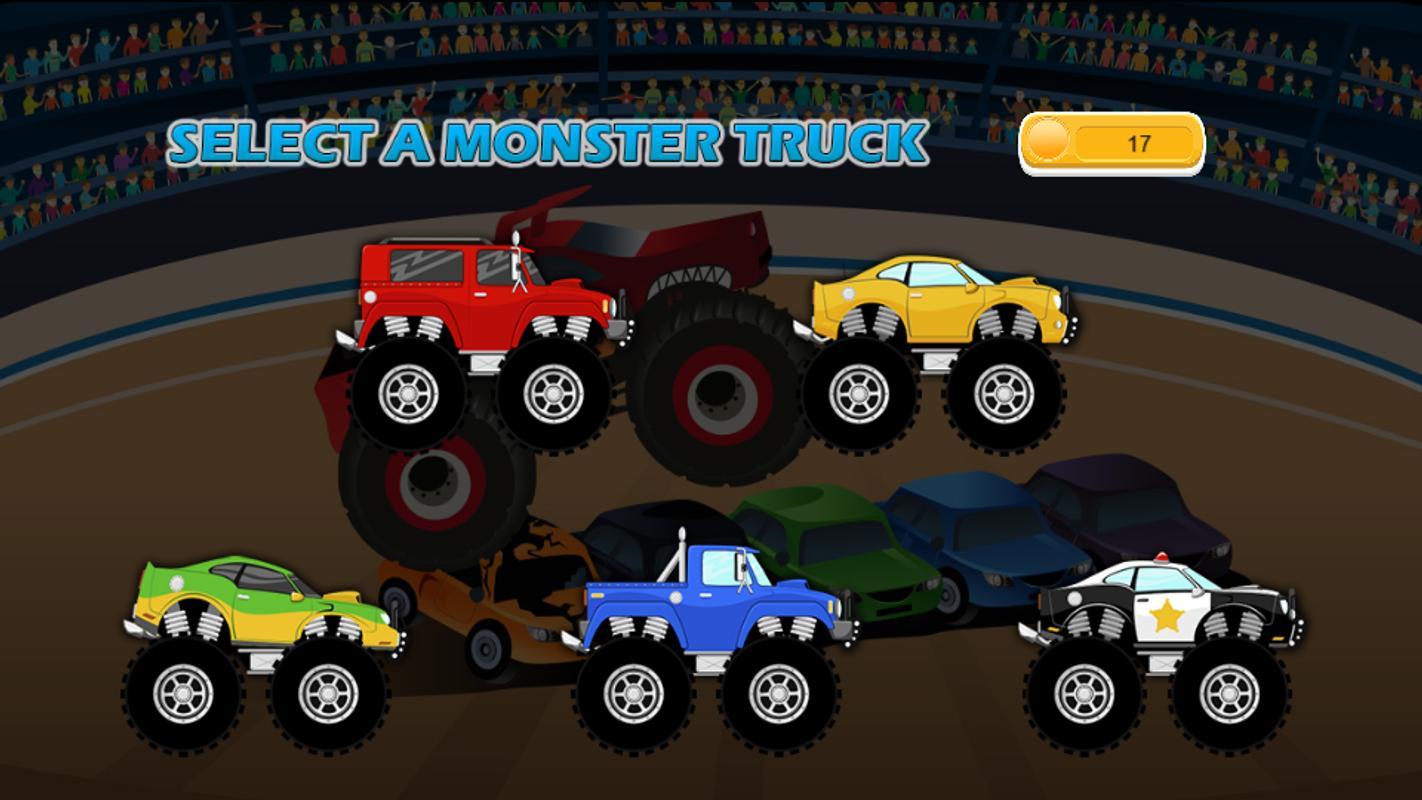 Monster Trucks Game For Kids  Apk