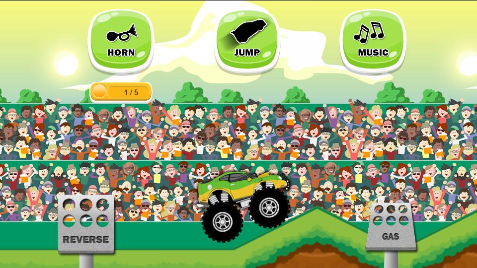 Monster Truck Game For Kids For Android Apk Download