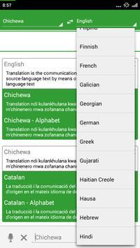 Chichewa Dictionary Translator apk screenshot