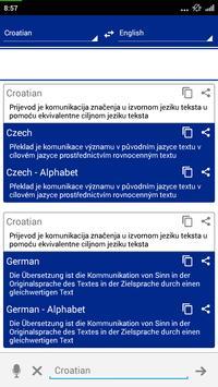 Croatian Dictionary Translator poster