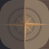 Smart GPS 360 Compass Pro icon