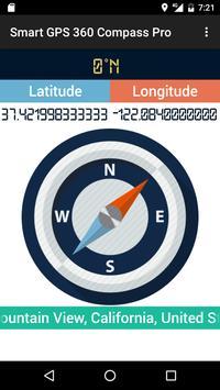 Smart GPS 360 Compass Pro screenshot 4