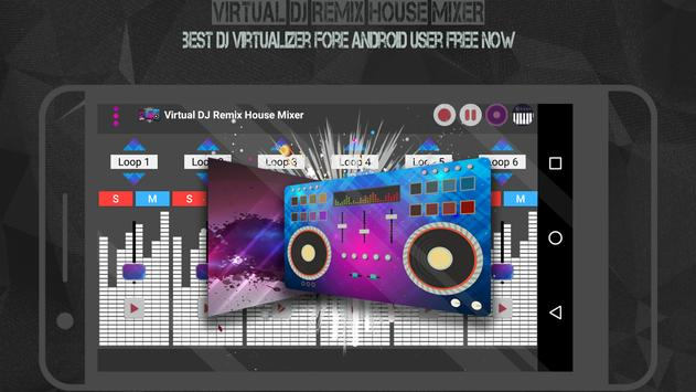 Virtual DJ Remix House Mixer poster