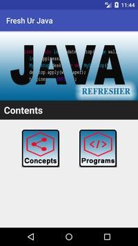 Fresh Ur Java poster
